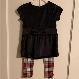 Toddler girl's 3T holiday set